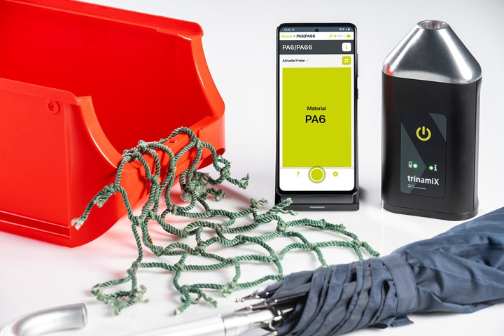 BASF's subsidiary trinamiX adds new application to its mobile NIR spectroscopy solution