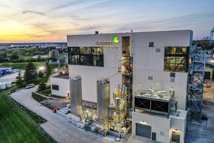 Danimer's Kentucky facility is in full-out production of PHA bioplastic