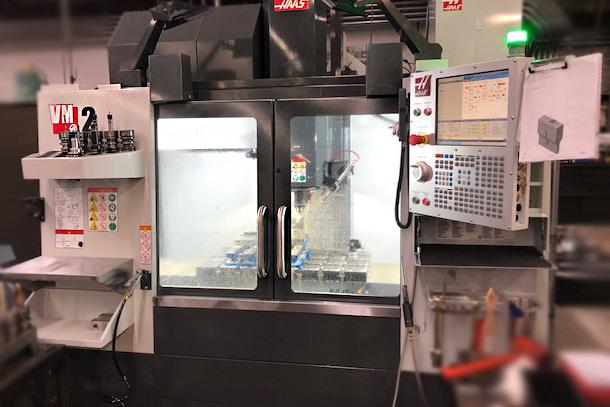 Dukane has expanded CNC machining capabilities.