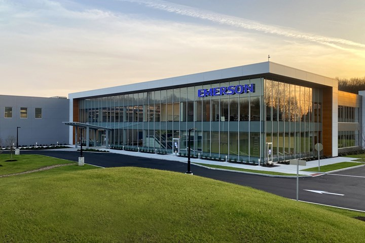 Emerson's new Branson welding & assembly technologies global headquarters