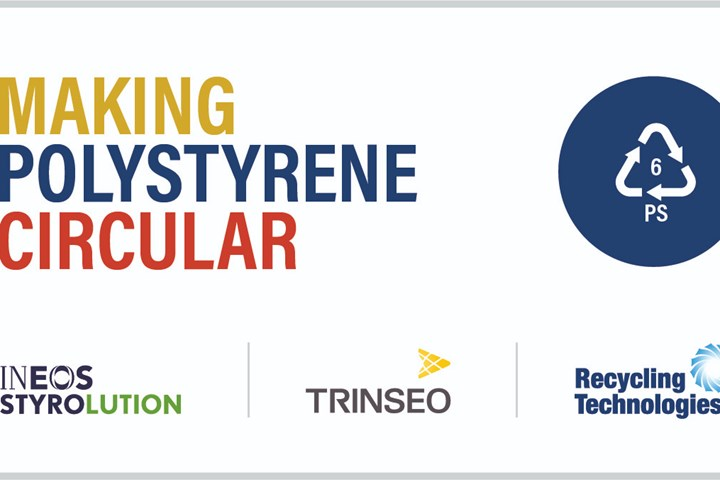 Ineos Styrolution, Trinseo and Recycling Technologies to built chemical recycling plant for PS waste