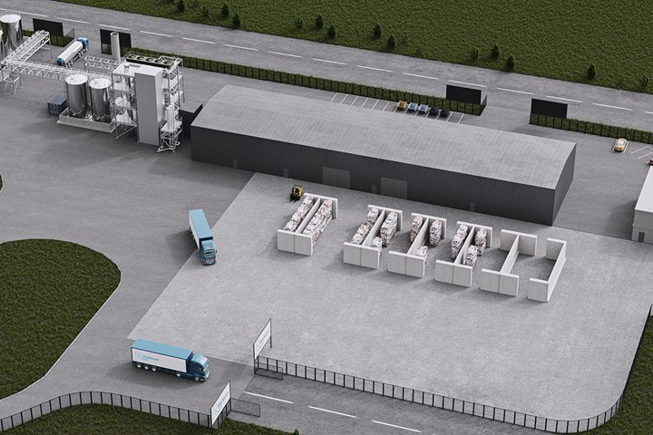 Mura's Hydro PRS process uses supercritical steam to convert plastic waste to virgin materials