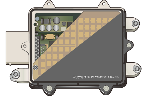Polyplastics targets its PBT and PPS to ADAS sensors.