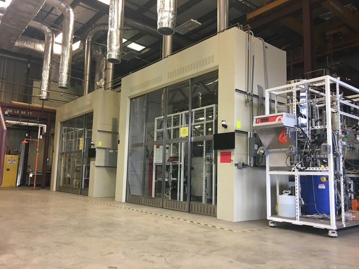 Trillium Renewable Chemicals pilot plant