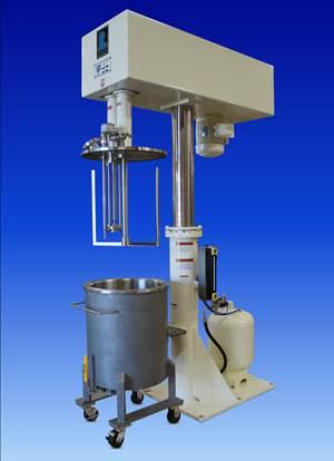 双轴搅拌机设计用于增加剪切