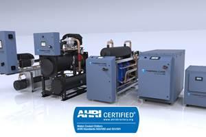 热水护理水冷式制冷机获得全球性能认证