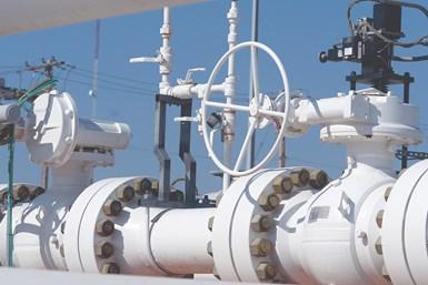 API 6D trunnion ball valves.