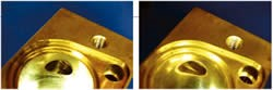 brass valve body