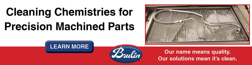 Brulin Cleaning Chemistries for Precision Metal