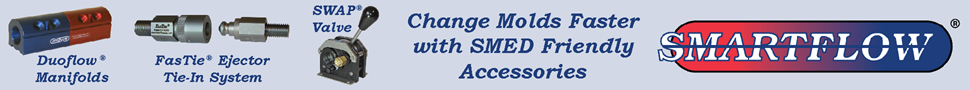 Change Molds Faster with Smartflow® Accessories