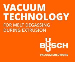 Vacuum pumps for plastic processing