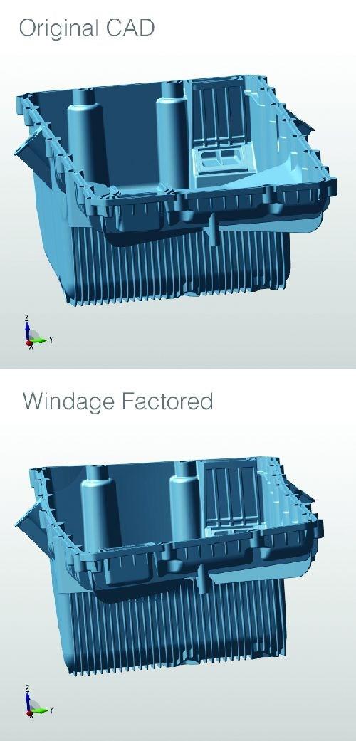original CAD vs windage CAD