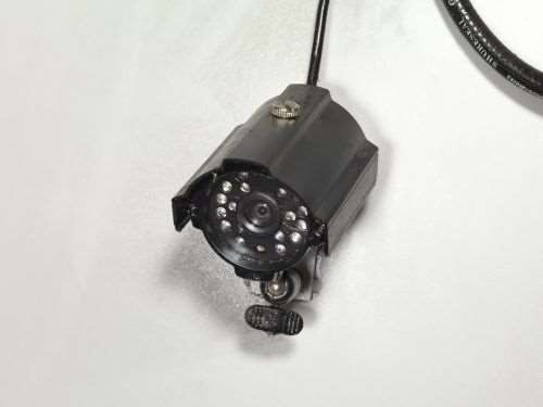 Camera in machine