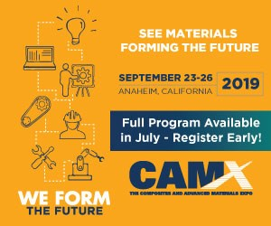 The full CAMX program will be available in July!