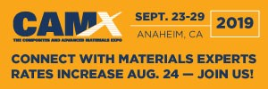 CAMX, The Composites and Advanced Materials Expo