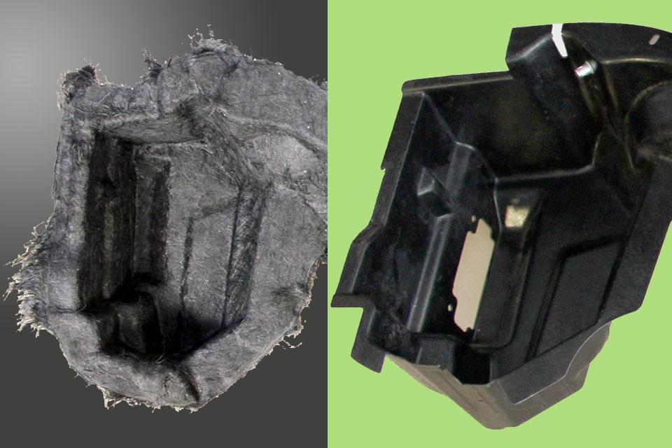 carbon fiber-reinforced parts
