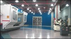 center's spacious display