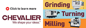 Chevalier - Grinding, Turning, Milling