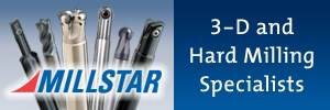 Milstar 3D and Hard Milling Specialist