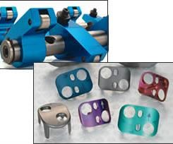 color anodized aluminum
