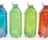 Colored and tinted bottles
