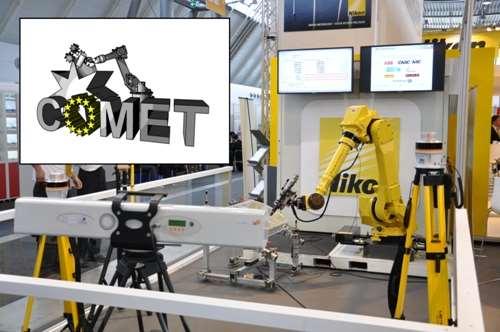 COMET robot setup