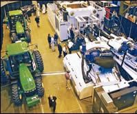 Complex multicomponent parts for tractors