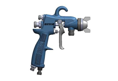 Binks 2100 spray gun