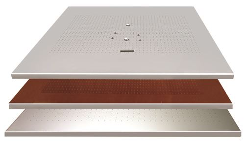 GPI Stay-Flat vacuum table