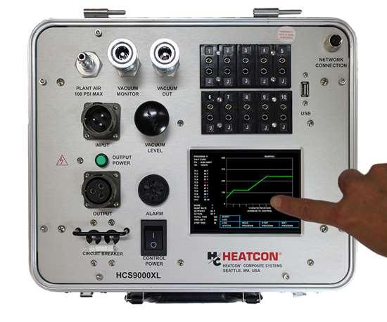Touch screen hot bonder HEATCON