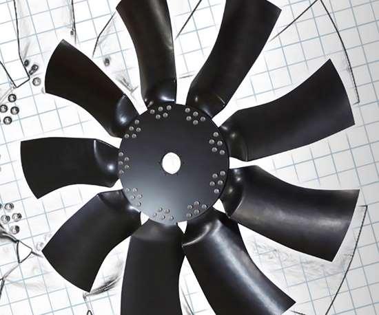IDI Composites composite fan