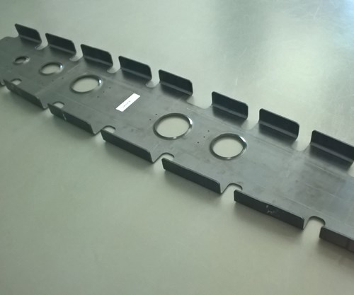 Daher thermoplastic composite wing rib