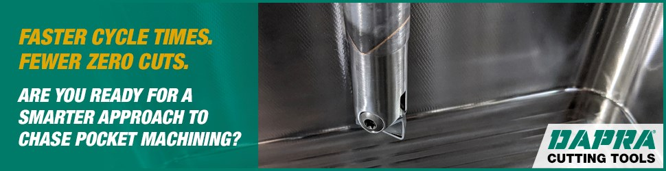 Tips for smarter chase pocket machining