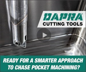 A smarter approach to chase pocket machining