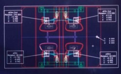 EDM electrode location sheet