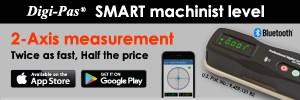 Digi-Pas SMART machinist level