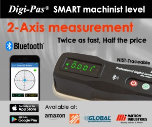 Digi-Pas SMART machinist level