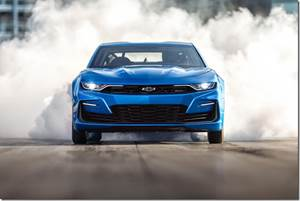 Chevy Develops eCOPO Camaro: The Fast and the Electric