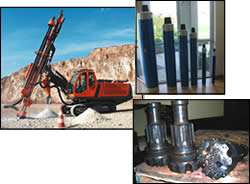 earth-drilling tools