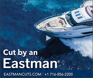 Composites for marine application cut by Eastman