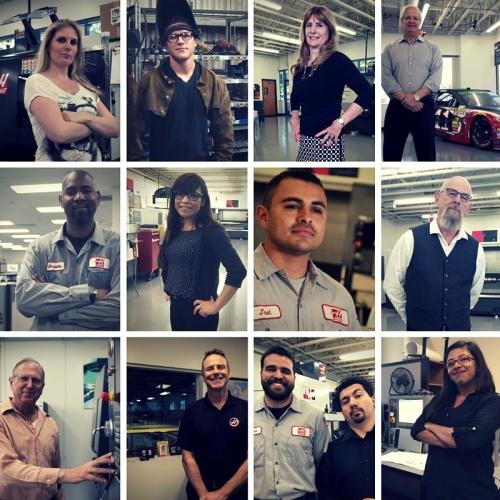 Haas team members