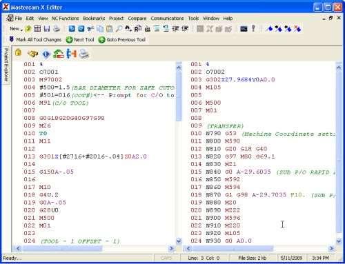 postprocessor editor