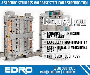 EDRO RoyAlloy Stainless Mold Base Steel