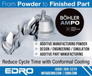 BOHLER EDRO AMPO Powder Additive Manufacturing