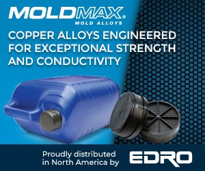 EDRO MoldMAX Copper Alloys injection mold