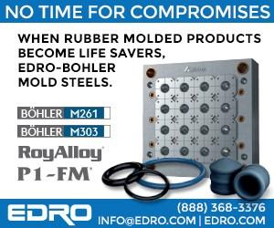EDRO Rubber Molding tooling RoyAlloy