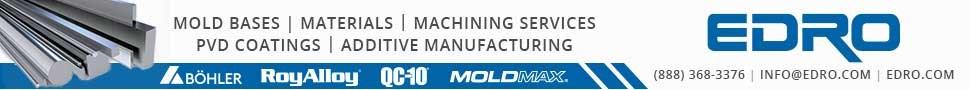 EDRO Specialty Steels Tool Steels Plastics MoldMAX