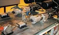 electric-pneumatic drill unit