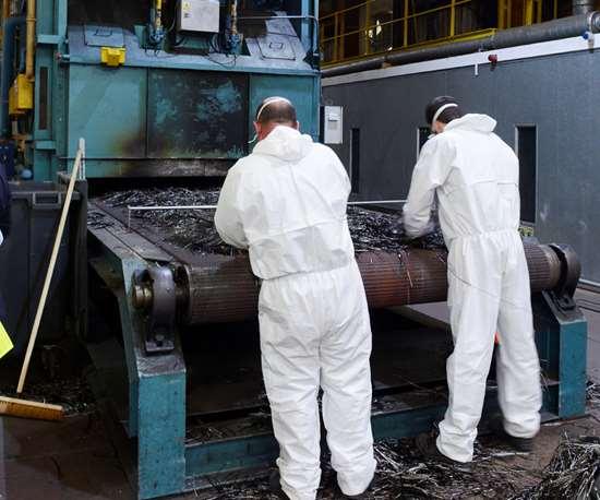 ELG Carbon Fibre material preparation
