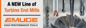 Emuge Turbine End Mills